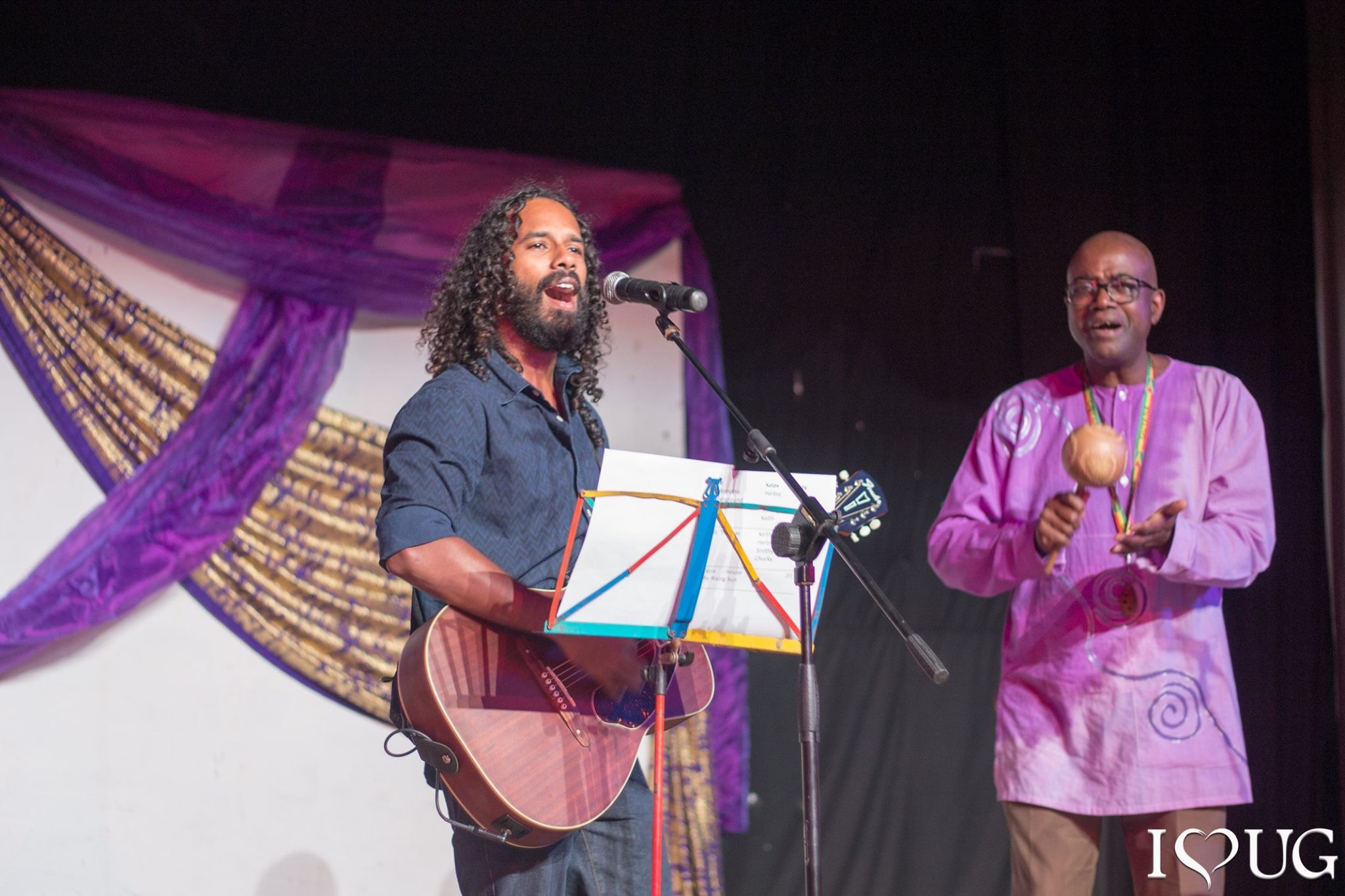 Performing with Legendary Guyanese Flautist - Keith Waithe