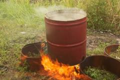Steelpan-burning